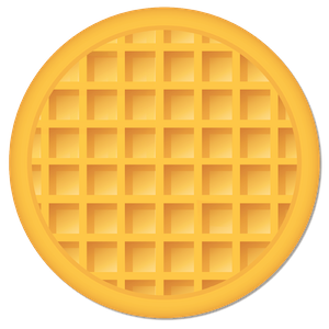 Waffle emoji png. Clipart images