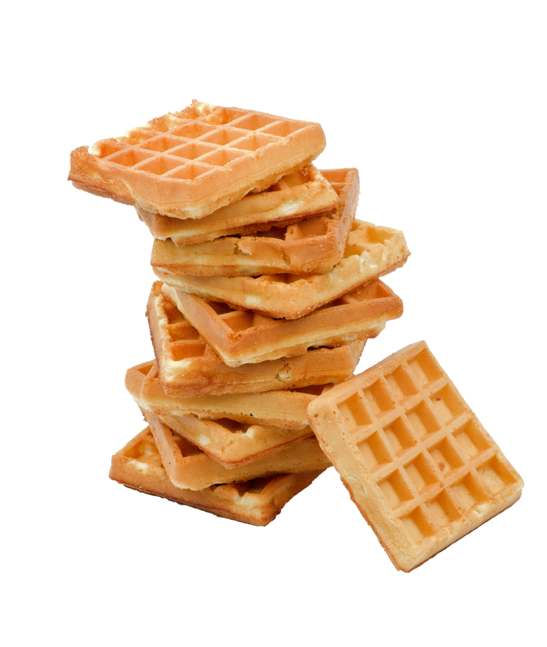 waffles transparent frozen