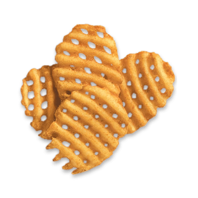 Waffle fries png. Mccain rebate eligible motion