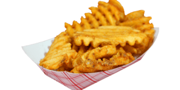 Waffle fries png. Side orders pizza south