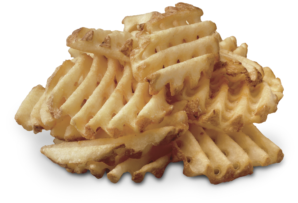 Waffle fries png. And a side of