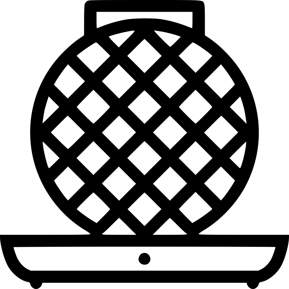 Waffle iron png. Svg icon free download