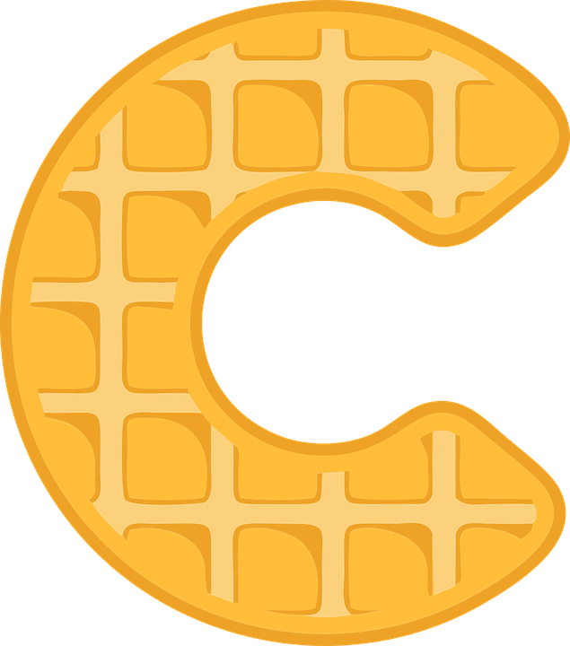 Waffle png pixel. Free photo font typography