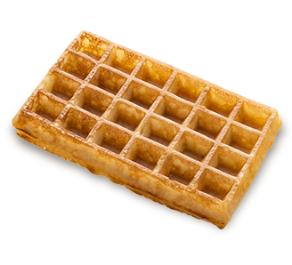 Waffles transparent traditional. Milcamps large