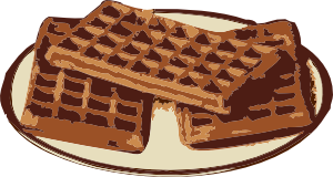Waffles transparent animated. Clip art at clker