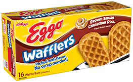 Waffles transparent brown sugar. Kellogg s eggo wafflers