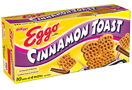 waffles transparent cinnamon toast