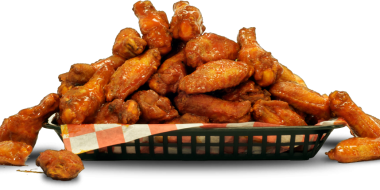 Waffles transparent fried chicken wing. Order online aunties and