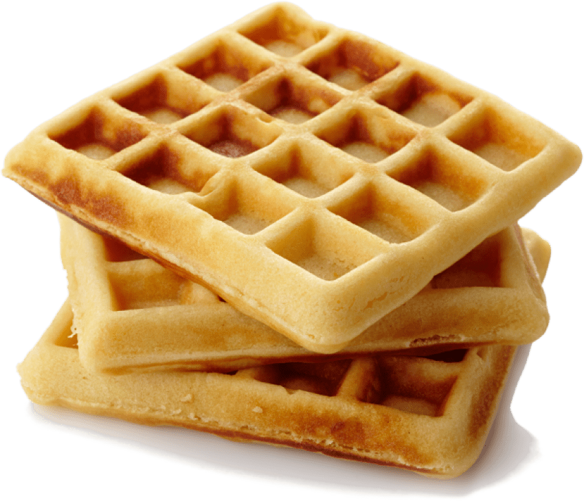 Waffles transparent one. Png free images toppng