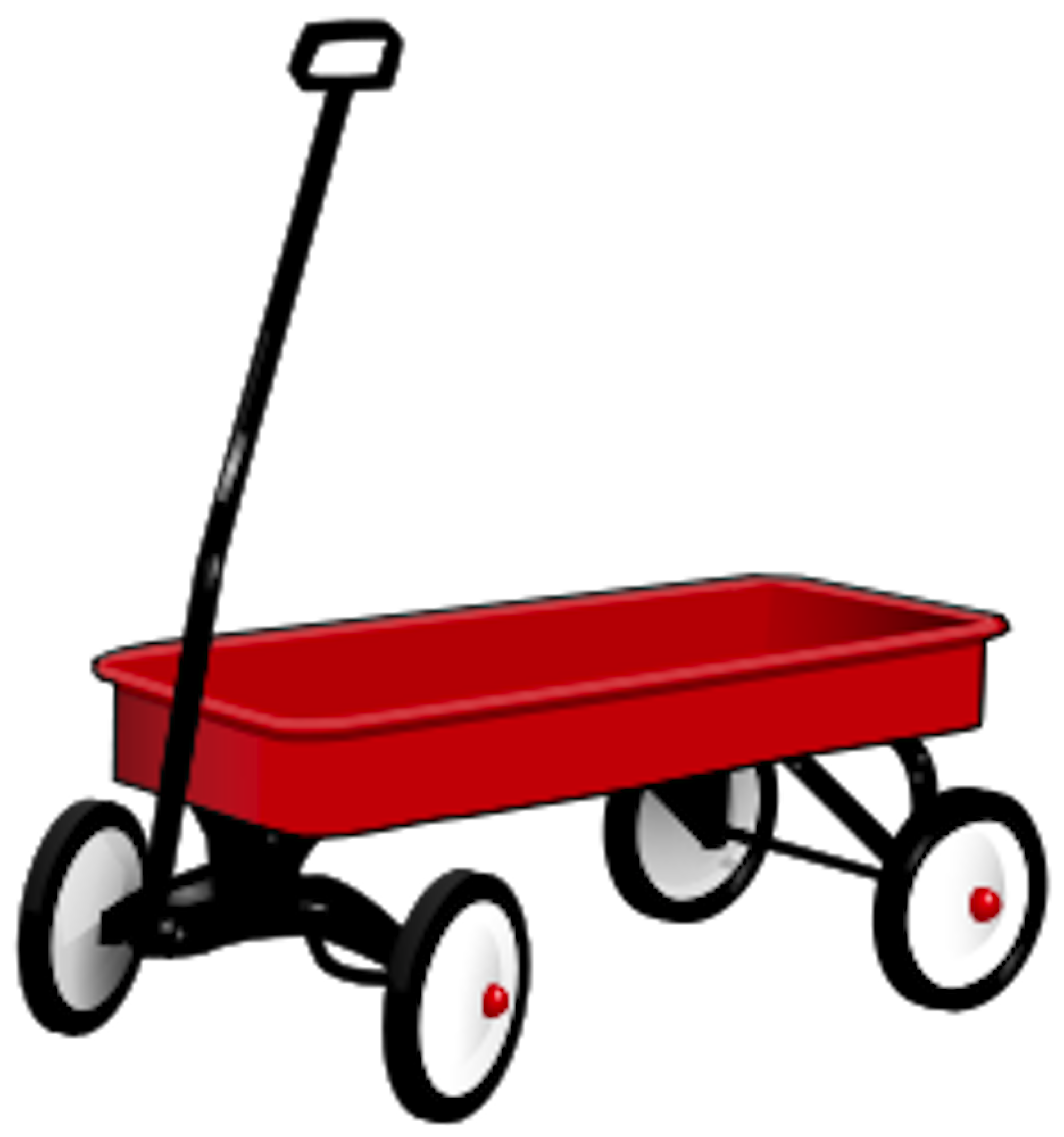 Red wagon png. Clipart at getdrawings com