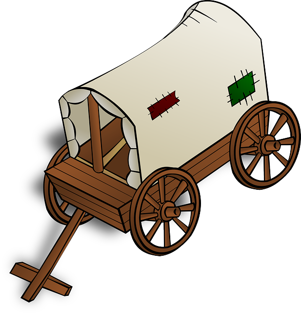 wild west clipart wheel