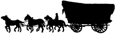 Wagon clipart horse wagon. And covered