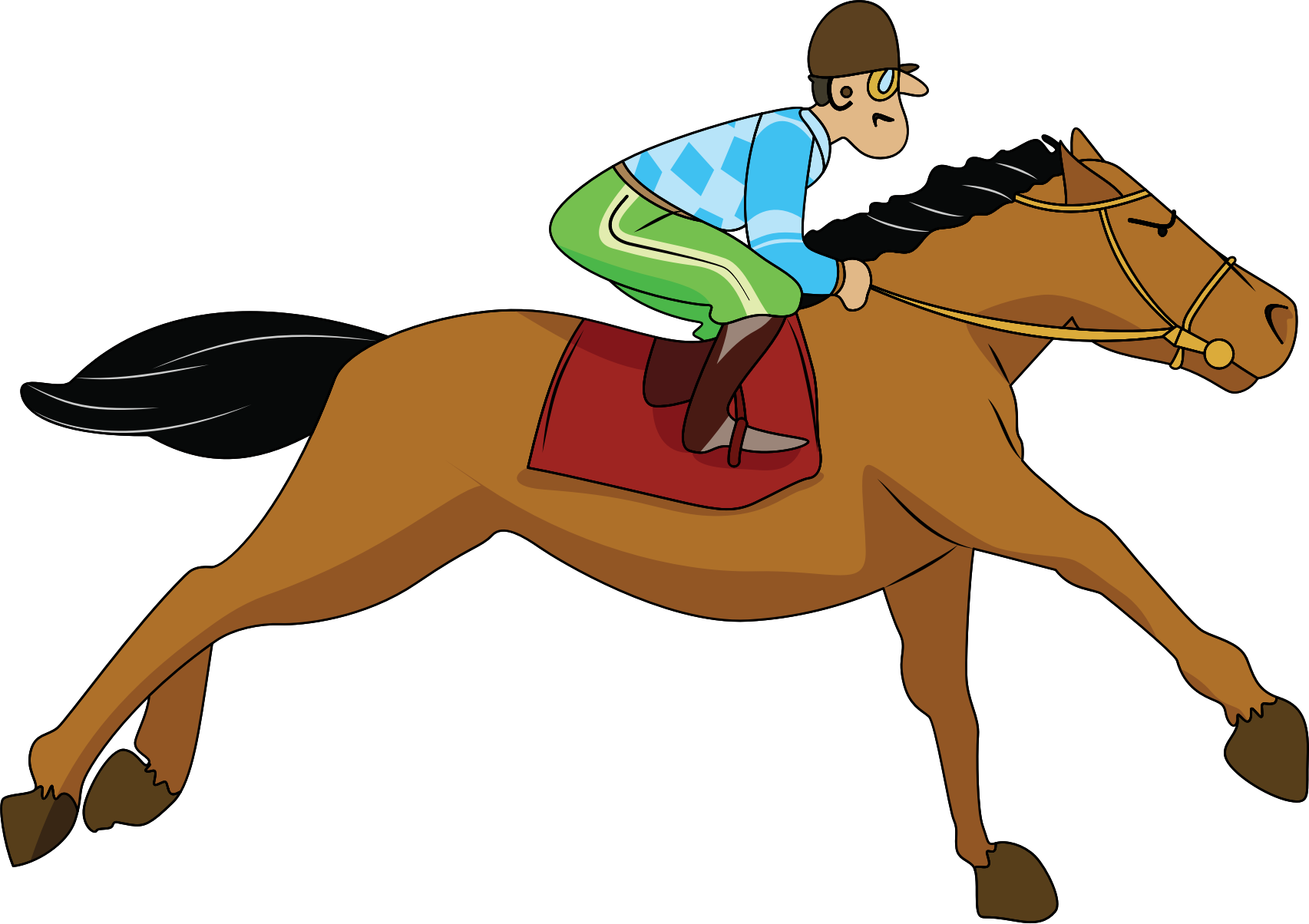 Wagon vector animated. Horse and carriage clipart