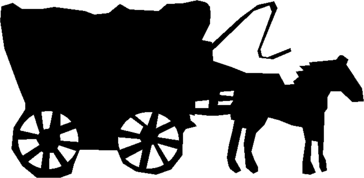 Wagon vector chariot. Stagecoach horse computer icons