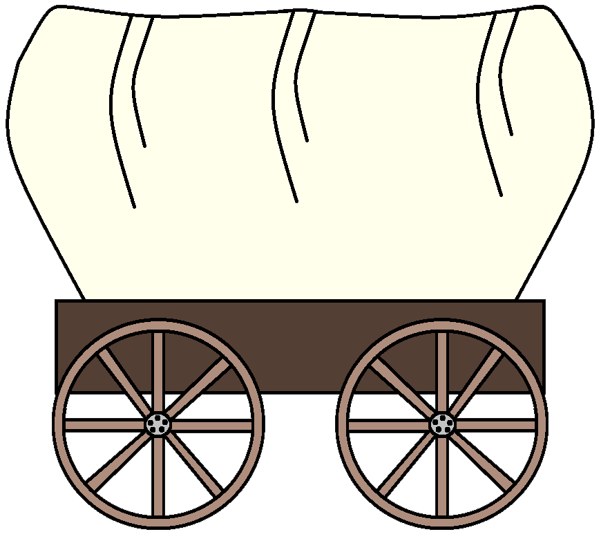 Wagon vector cowboy. Wheel cliparts and others