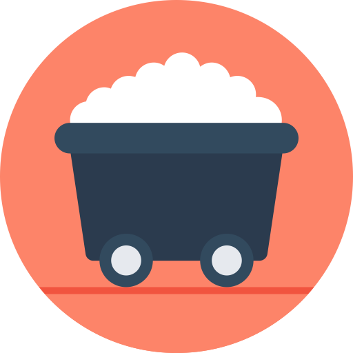 Wagon vector simple. Icon with png and
