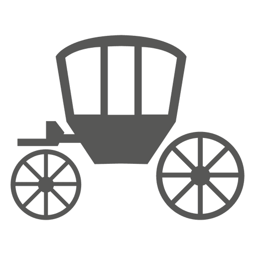 Wagon vector horse cart. Icon transparent png svg