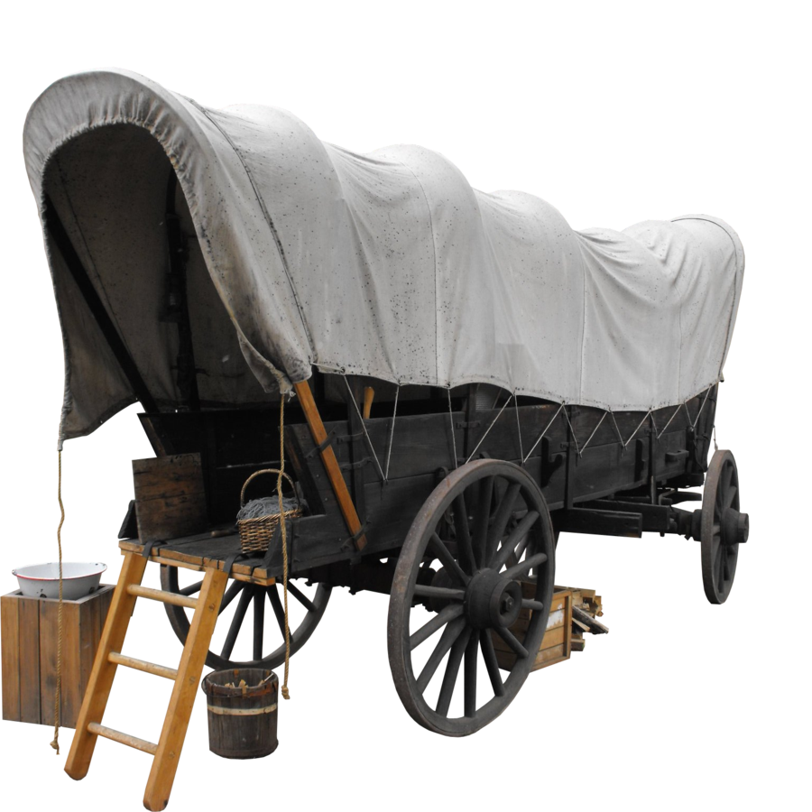 Wagon vector western. Png image clipart psd