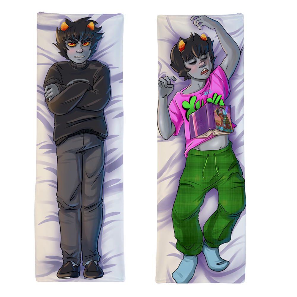 Waifu body pillow png. For fans by knight