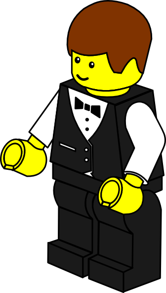 Waiter clipart. Picture of panda free