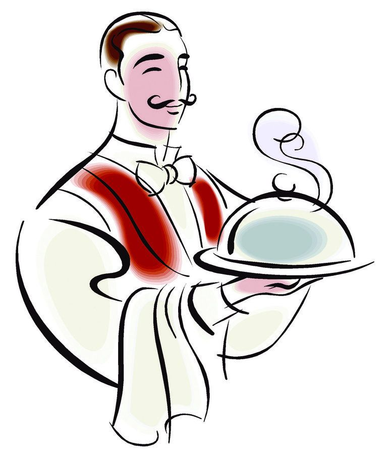 Waiter clipart. Google search cliparts by