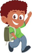 Walk clipart back to school. Free clip art pictures