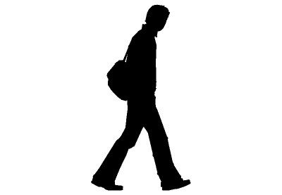 Walking up stairs at. Walk clipart silhouette png royalty free library
