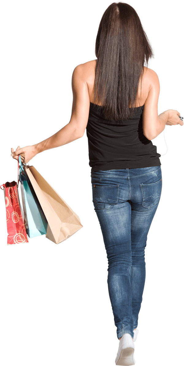 Walk vector family shopping. Person icon pictures