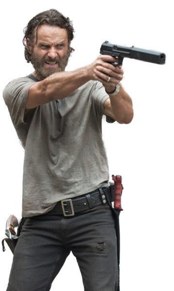 Walking dead png. Rick grimes from the