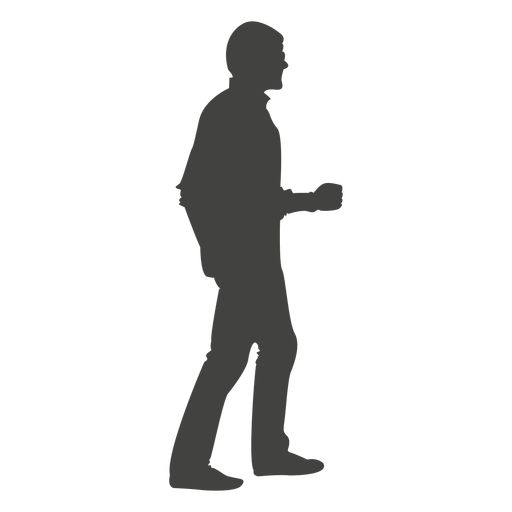 Walking people silhouette png. Transparent images pluspng man