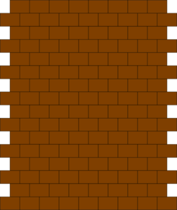 cartoon brick wall png