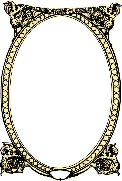 Wall clipart photoframe. Picture frames drawing decorative