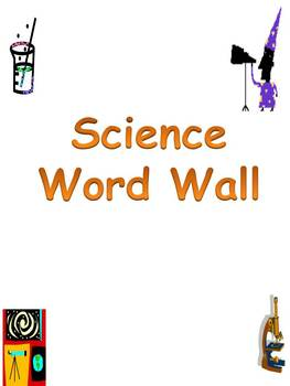 Wall clipart word wall. Science th grade teaching