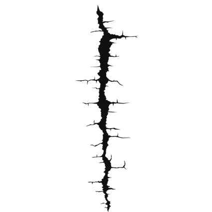 Wall crack png. Images in collection page