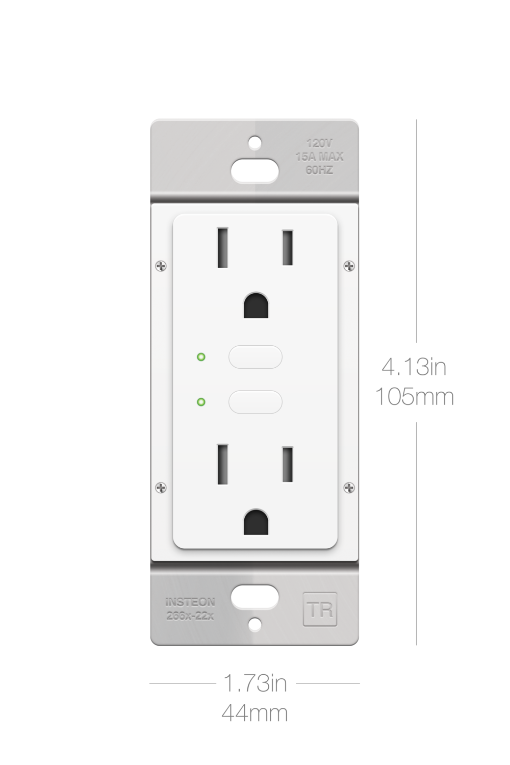 Wall outlet png. On off insteon devicewalloutletfrontpng