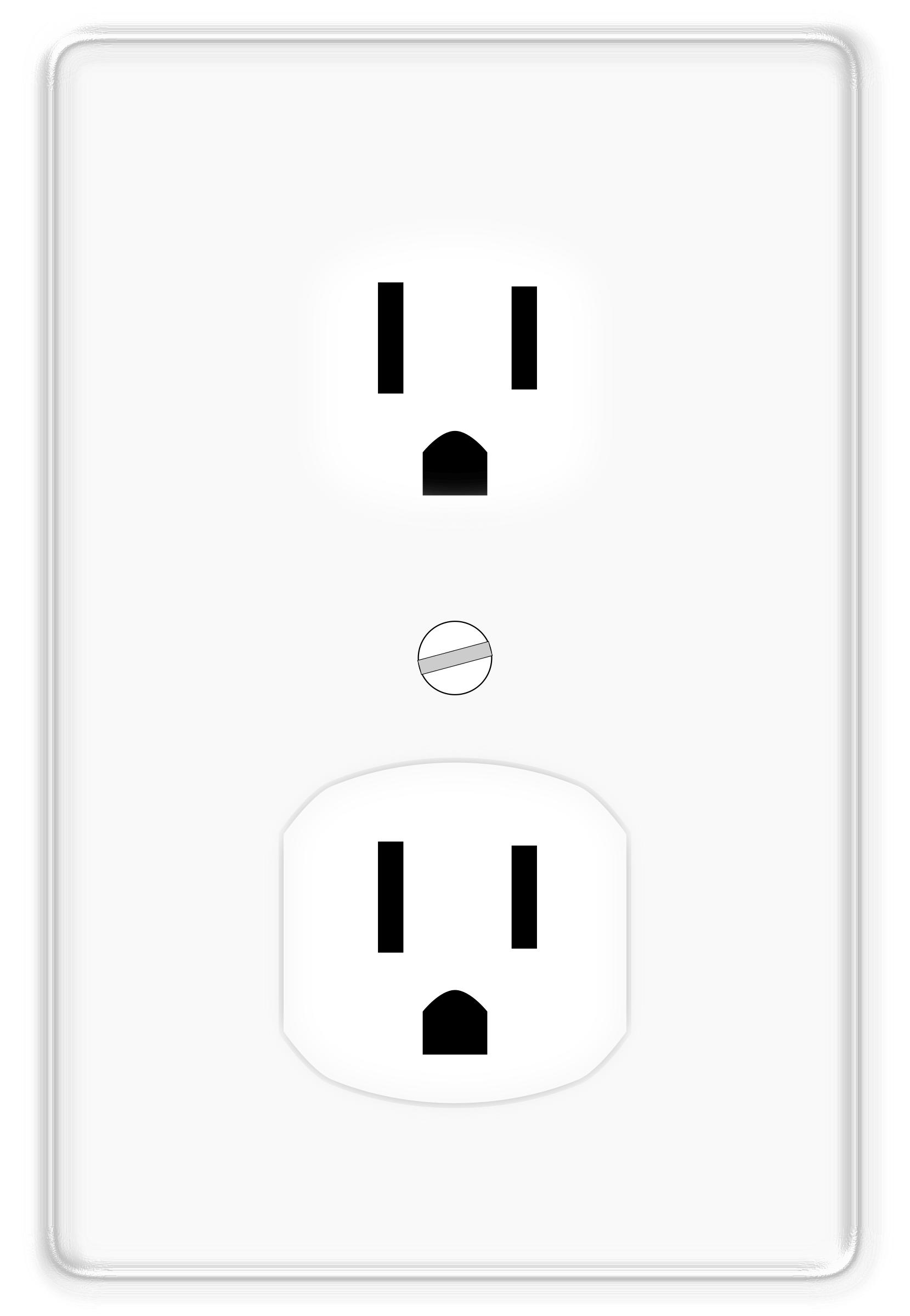 Wall outlet png. Power socket images cutouts