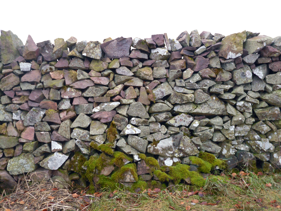 Stone wall png. Cut out stock by