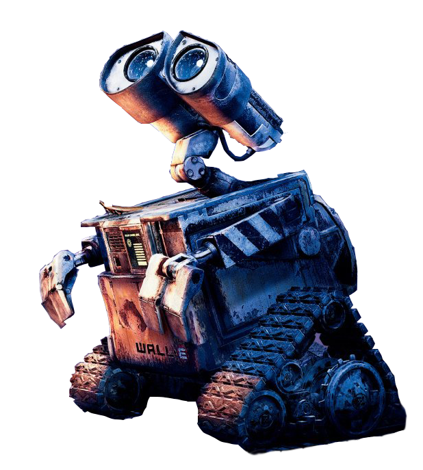 Wall e png. Looking to sky by