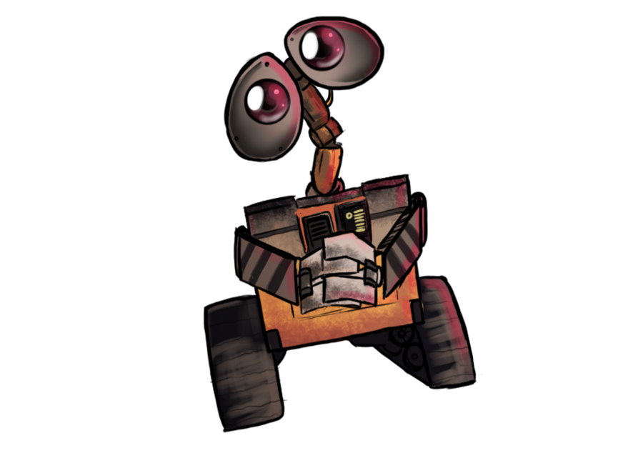 Wall-e png cartoon. Good guy wall e