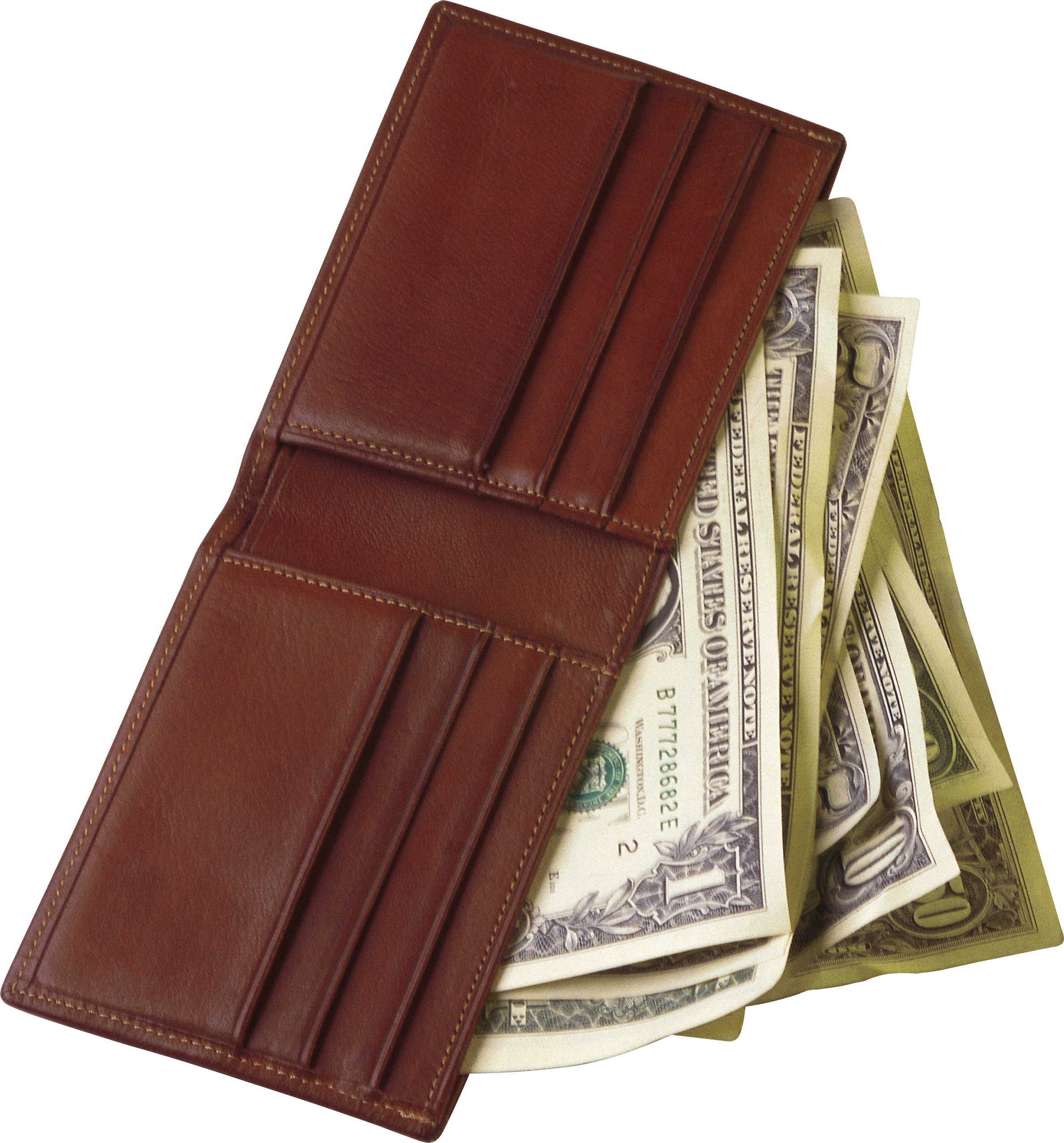 Wallet full of money png. With transparent pictures free