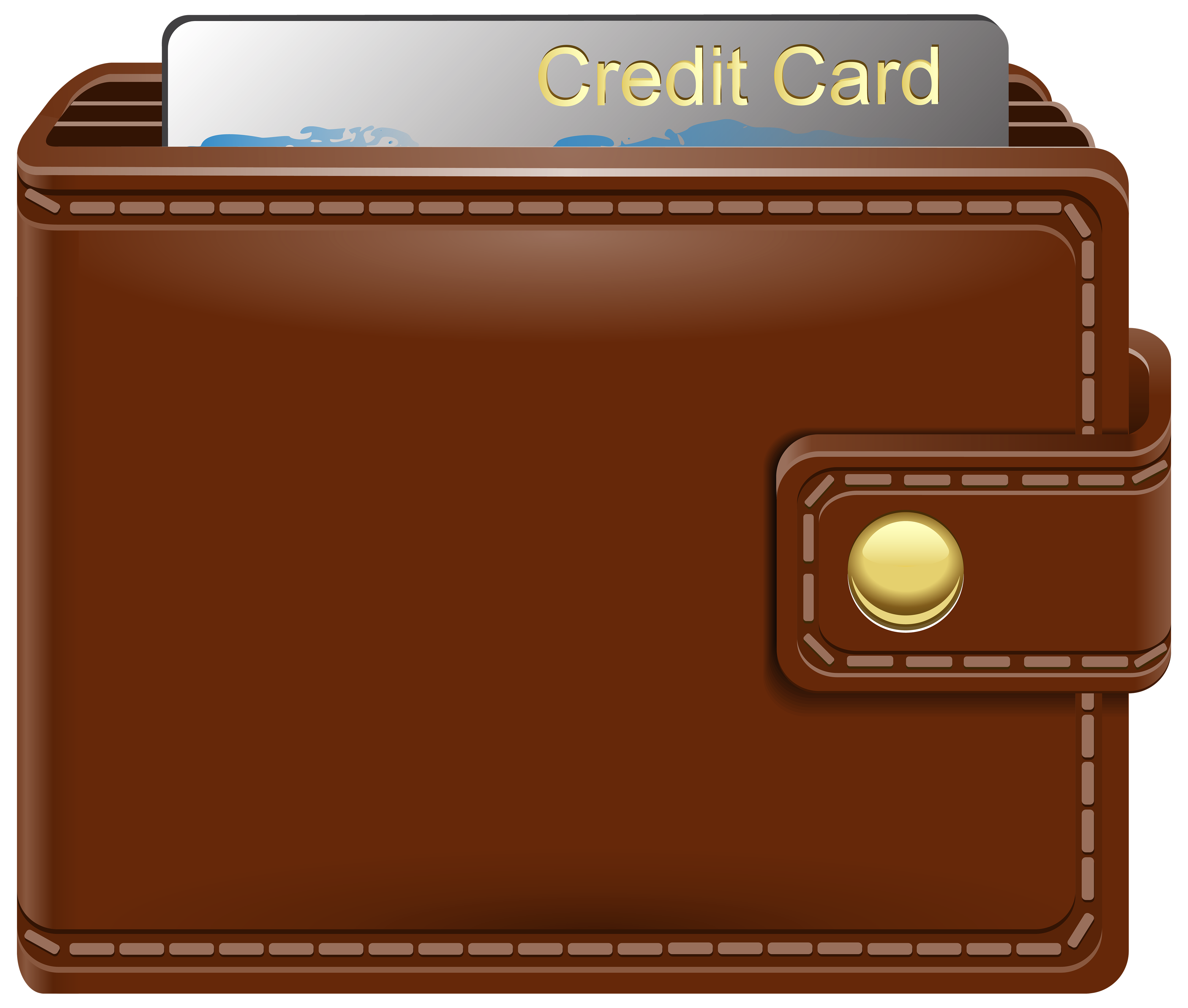 With credit card png. Wallet clipart clip free library