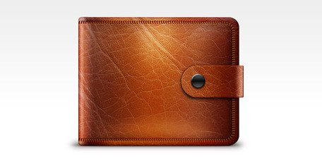 wallet clipart leather wallet