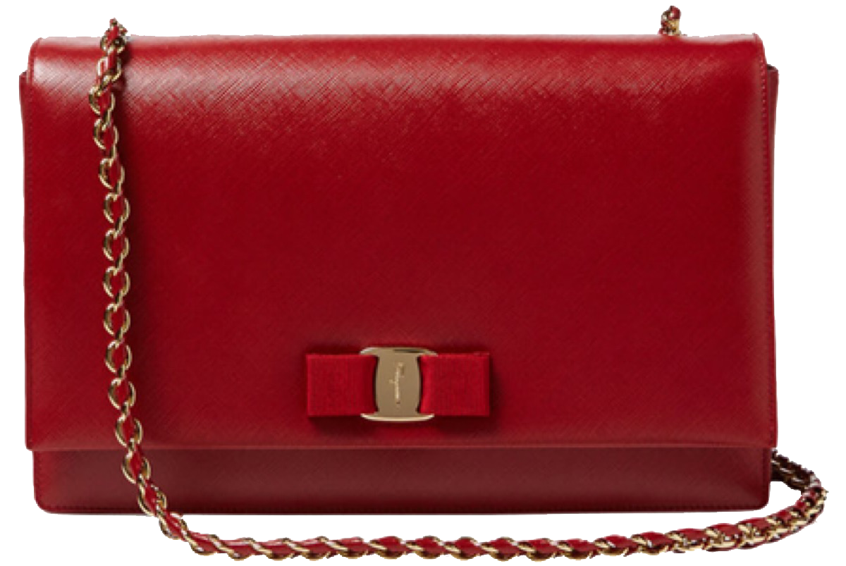 Wallet strap png. Handbag leather red yellow