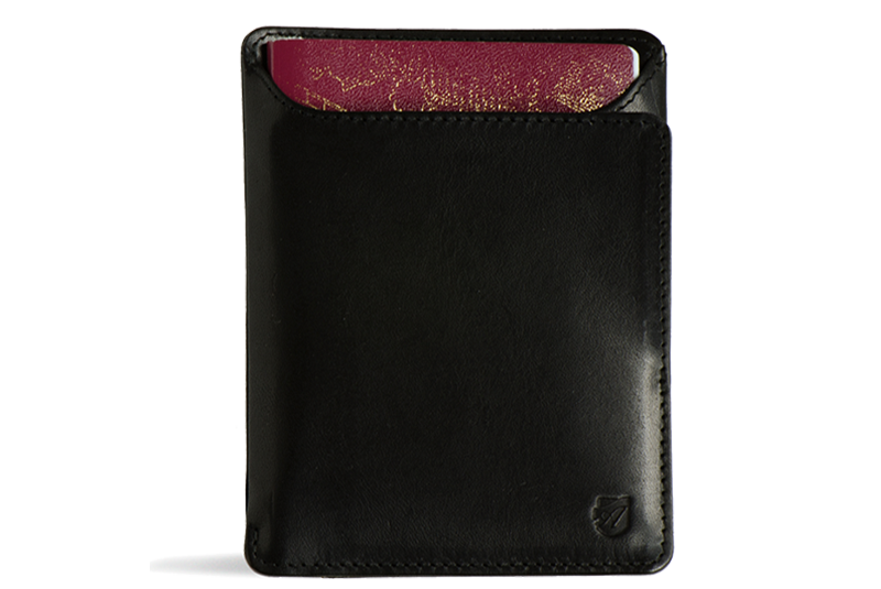 Wallet transparent. Front pocket id axesswallets