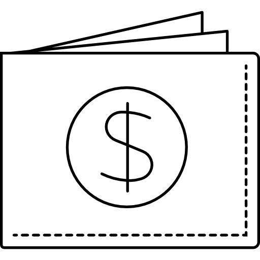 Wallet vector infographic. Icons free download demo