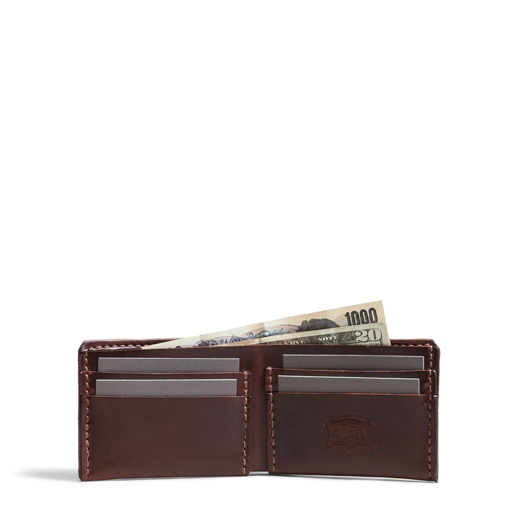 Wallet vector leather. Wallets orox co brown