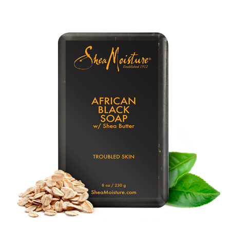 Soap transparent black. African soothes and refreshes