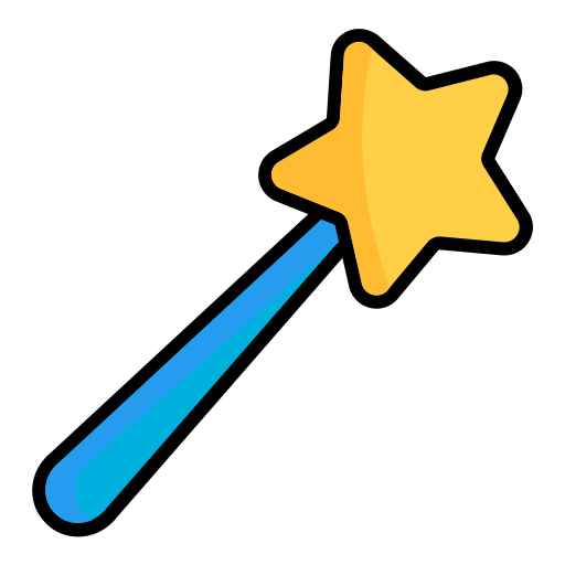 Wand clipart magic hand. Png group with items