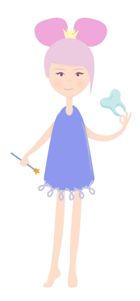 Wand clipart tooth fairy. Unusual dental traditions from
