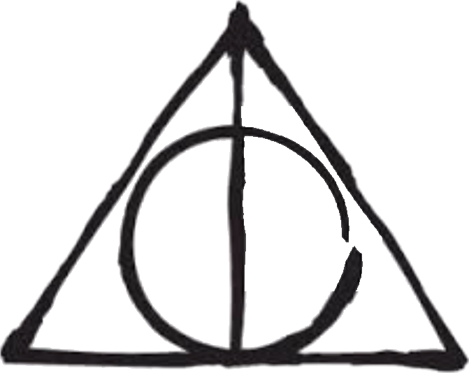 Wand transparent deathly hallows. Harry potter and the